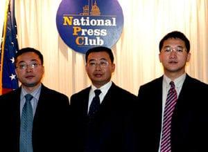 Zhang Kai (po prawej) w Waszyngtonie D.C. Zdjęcie: China Aid