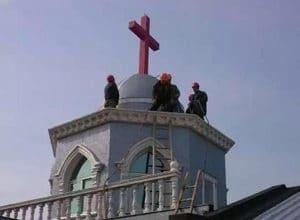 CHINY: Kolejne krzyże są siłą usuwane