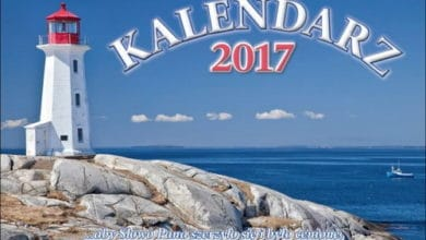 Kalendarz ścienny 2017