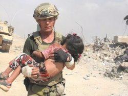 dziecko z rąk ISIS