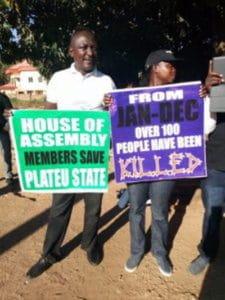 Protest przeciw przemocy