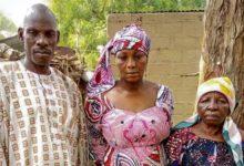 Rodzice i babcia Leah Sharibu