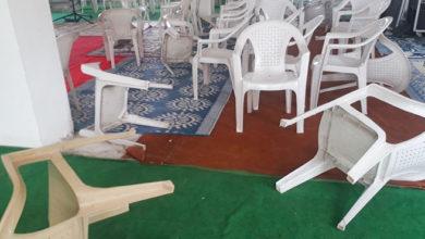 Kościół w Hajdarabadzie po ataku