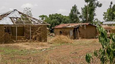 Wieś w Nigerii