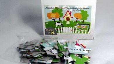 Puzzle - Domek
