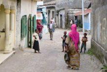 Jedna z dróg na Komorach