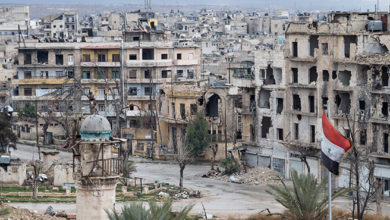 Wschodnie Aleppo - całe dzielnice zniszczone