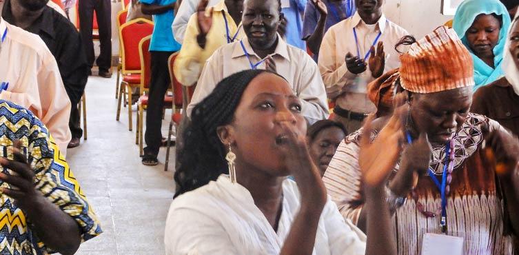 nabożeństwo w Sudanie