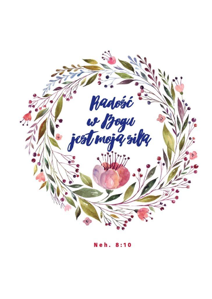 Radość w Bogu jest moją siłą