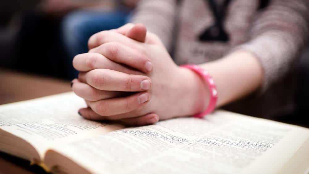 Modlitwa nad Biblia