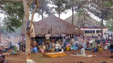 Obóz dla uchodźców w Republice Środkowoafrykańskiej