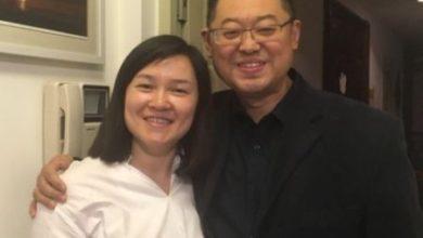 Pastor Wang Yi i jego żona Jiang Rong