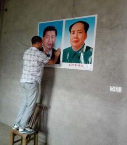 Xi Jinping zamiast krzyza