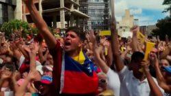 Protests in Venezuela (Photo: Screen capture)