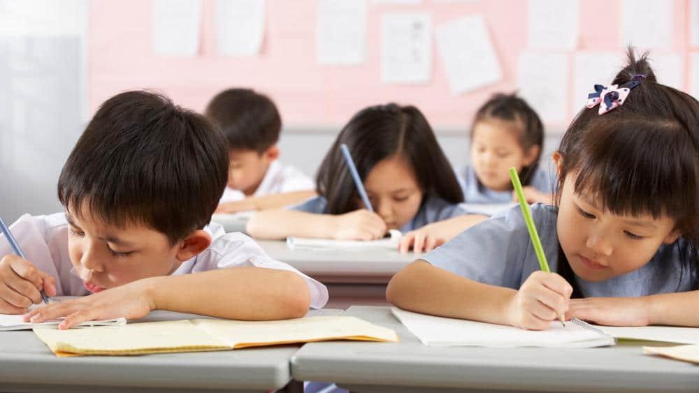 Chińscy uczniowie