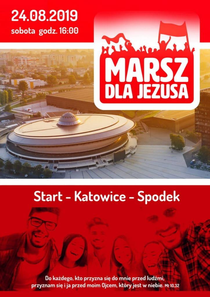 Marsz dla Jezusa Katowice 2019