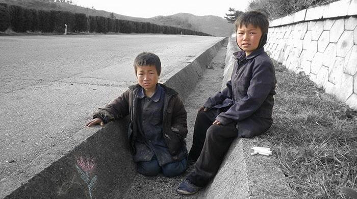 Dzieci ulicy w Korei Północnej