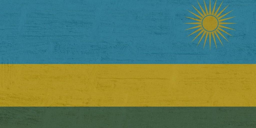 Rwanda flaga