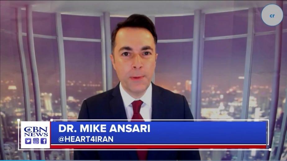 Mike Ansari z Heart4Iran