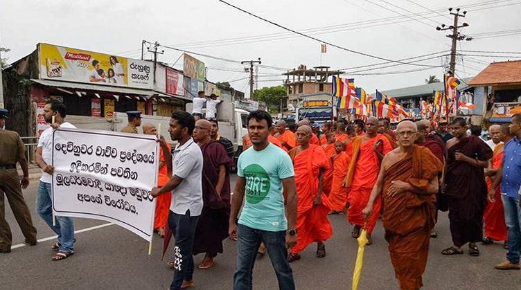 demonstracja michów budyjskich