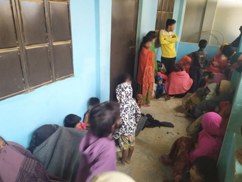 rodziny Rohingya