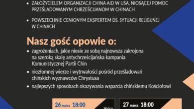 Photo of Bob Fu (Tajny agent Boga) będzie w Polsce. Rzecznik wolności religijnej w Chinach