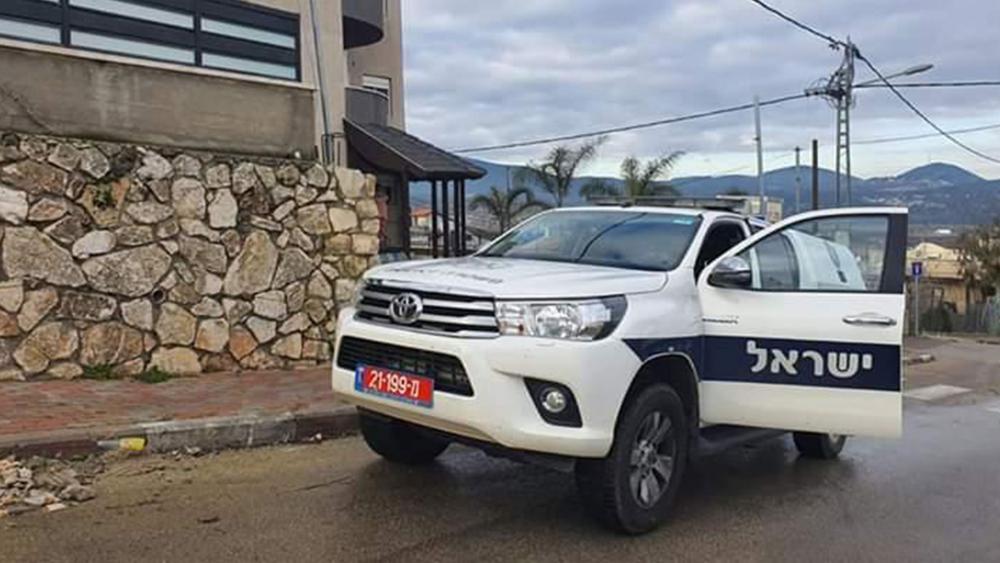 Izraelski samochód policyjny