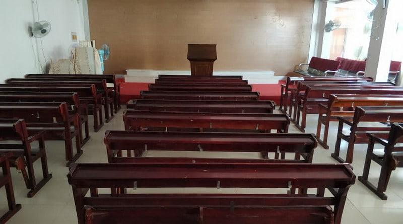 kościoły w Wuhan