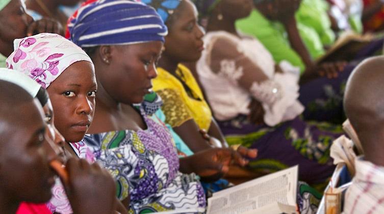 Nabożeństwo w północnej Nigerii