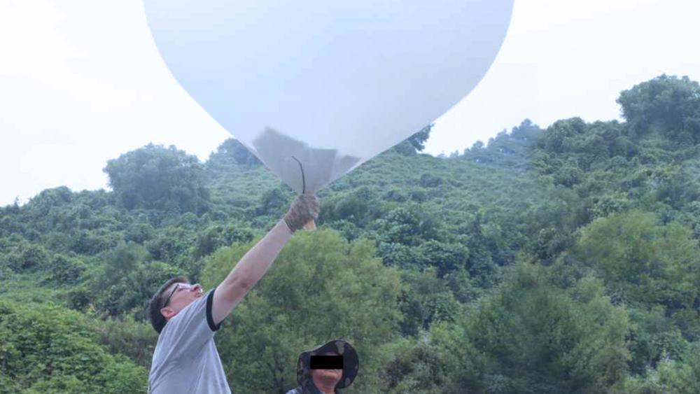 balony z Biblią