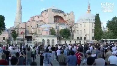 Photo of Po zajęciu dla islamu Hagia Sophia, Turcja patrzy w kierunku Jerozolimy