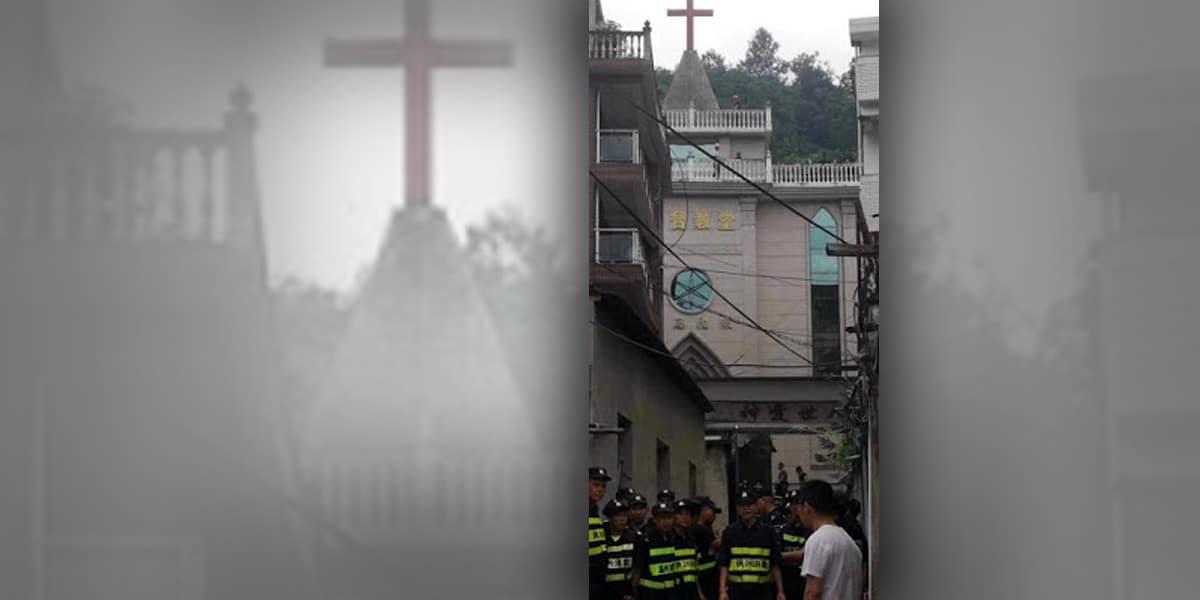 niszczenie krzyży