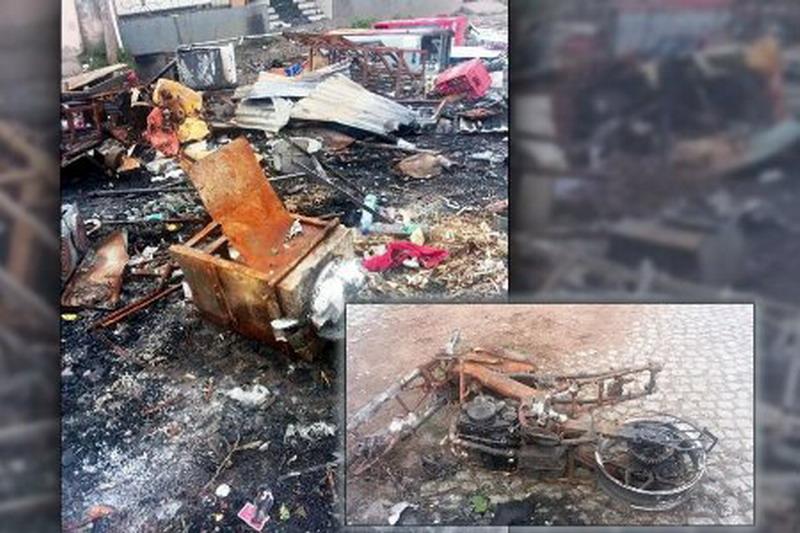 Zniszczenia w Shashamene