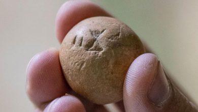 Photo of Izraelscy archeolodzy znajdują w Jerozolimie starożytny odważnik z okresu Świątyni Salomona
