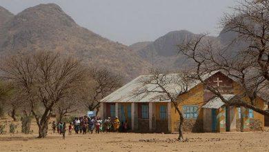 W górach Nuba