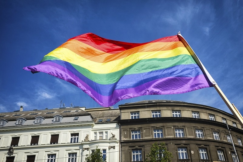 LGBT flaga