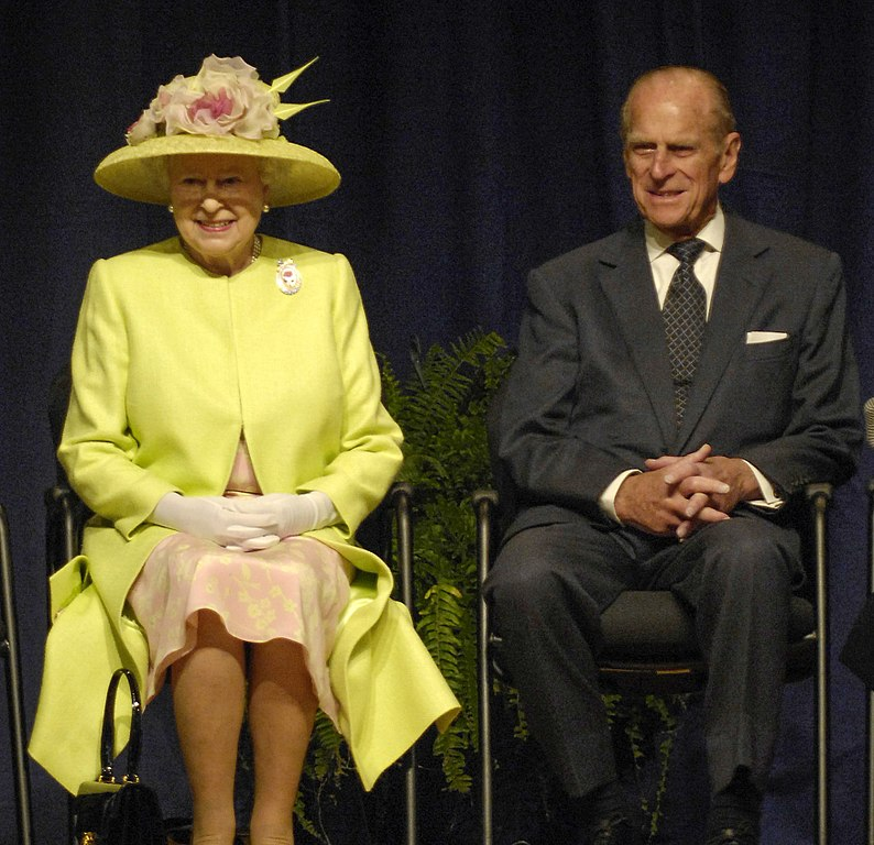 Królowa Elżbieta II i książę Filip
