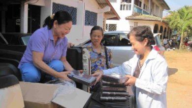 Dystrybucja Biblii w Laosie